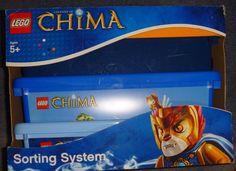 AUTHENTIC Legends of Chima LEGO Sorting/Storage System NEW Room Copenhagen 4091 #Lego