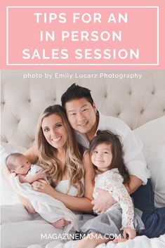 Here are five top tips every photographer needs to know  for a successful in-person sales session.  Read there here ==> http://www.magazinemama.com/blogs/editors-blog/5-tips-for-a-successful-in-person-sales-session