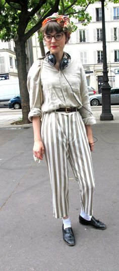 I could never pull off those pant but mon dieu, j'adore!