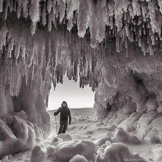 Exploring the Eben Ice Caves in Michigan's Upper Peninsula | Pure Michigan Connect