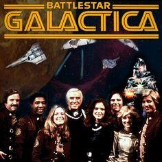 Battlestar Galactica...old school...