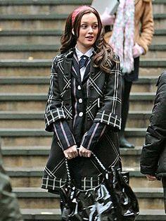 Blair Waldorf uniform- 1X12