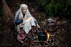 The Wise Woman - Lunaesque Creative Photography Costume - The Dark Angel Design Co Witch Craft, Gary Zukav, Beltane, Sacred Feminine, Divine Feminine, Fantasy Photography, Creative Photography, Wise Women, Old Women