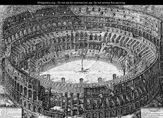 Veduta dell'Anfiteatro Flavio detto il Colosseo (View of the Flavian Amphitheater known as the Colosseum): From Vedute di Roma (Views of Rome), 1776  Giovanni Battista Piranesi