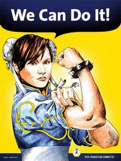 Geek Icons Taking On Rosie The Riveter