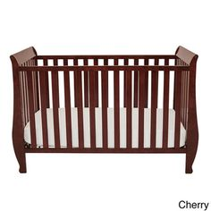 @Overstock - Mikaila Kailyn Convertible Crib - The Kailyn crib's unique style combines different elements for safety and ease of use. Made of pine solid hardwood with a non-toxic finish, the Kailyn crib has stationary sides for added safety in addition to wide, thick slats for extra sturdiness.  http://www.overstock.com/Home-Garden/Mikaila-Kailyn-Convertible-Crib/8995273/product.html?CID=214117 $167.80
