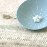 Cup Porcelain Broochs - Jennifer Orme