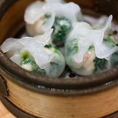 shrimp and chive dumpling