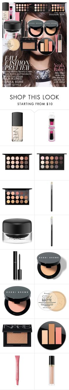"""MILA KUNIS: TANYA BURR CELEB STYLE"" by oroartyellie on Polyvore featuring beauty, NARS Cosmetics, MAC Cosmetics, Chanel, Bobbi Brown Cosmetics, Rimmel and Revlon"