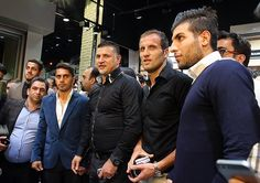 "In pictures: Iranian football legend #AliDaei inaugurates his new sporting goods store in #Tehran  ""Ali Daei is an Iranian former footballer and coach who recently manages #Persepolis in the #Iran Pro League.  From June 2007 until 2013, Daei was a member of the #FIFA Football Committee""  (From Wikipedia)  Photos by Mahmood Hosseini  #Realiran  www.realiran.org"