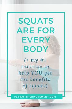 Your body was made to squat and squatting can help your hips knees and pelvic floor work their best. Here's how you can squat better even if you can't squat! Pelvic Floor Exercises, Back Pain Exercises, Jaw Pain, Neck Pain, Sleep Apnea Solutions, Benefits Of Squats, Weighted Squats, Psoas Release, Tight Hip Flexors