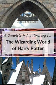 Complete one day itinerary for The Wizarding World of Harry Potter at Universal Studios Orlando   Universal Studios Resort   Harry Potter   Forbidden Journey   Escape from Gringotts   Butterbeer   Visit Orlando #universalstudios #universalstudiosorlando #wizardingworld #wizardingworldofharrypotter #harrypotter #visitorlando