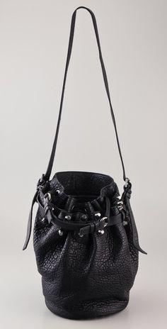 0638da7bdd Alexander Wang Diego Bucket Bag with Silver Hardware - StyleSays Cheap  Handbags