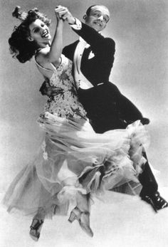 """Fred Astaire & Rita Hayworth for the movie """"You were never lovelier"""""""