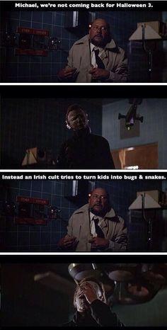 Haha! Michael Myers face palm!