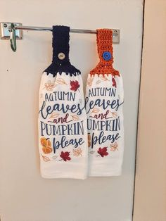 Crochet Towel, My Etsy Shop, Pumpkin, Fall, Check, Kitchen, Autumn, Pumpkins, Cuisine