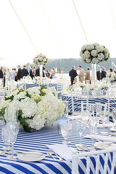 This would be perf for my nautical inspired wedding at the Boathouse at Piedmont Park :)