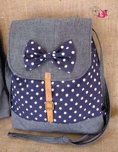 Handmade backpack/ Handmade bag