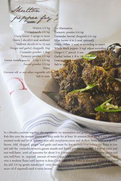 kurryleaves: Mutton Pepper Fry