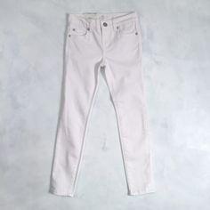 Toddler & Little Girls The Skinny White Jeans