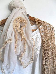 beautiful crochet edging