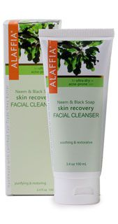 Neem & Black Soap Skin Recovery Facial Cleanser $14