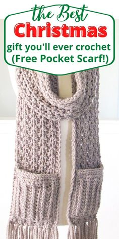Chunky Crochet Scarf, Crochet Scarves, Crochet Clothes, Crochet Hooks, Knit Crochet, How To Crochet A Scarf, Easy Crochet Scarf Patterns, Easy Things To Crochet, Crochet Scarf For Beginners