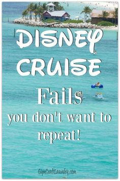 My EPIC Disney Cruise FAILS. Read these Disney Dream Cruise tips so you don't regret all the things you failed to do during your magical Disney Cruise Line vacation! Cruise Tips, Cruise Travel, Cruise Vacation, Disney Vacations, Disney Trips, Vacation Trips, Disney Travel, Family Vacations, Walt Disney