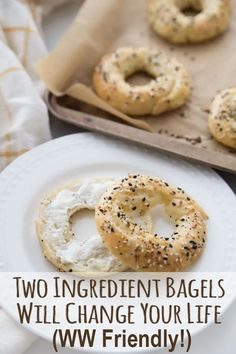 These Weight Watchers two ingredient bagels will change your life! You can incorporate bread into your WW program with no guilt using this recipe. Get the SmartPoints™ and Freestyle™ Program Points values for various serving sizes, too.
