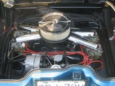 1965 Chevrolet Corvair Yenko Stinger Engine Maintenance of old vehicles: the material for new cogs/casters/gears/pads could be cast polyamide which I (Cast polyamide) can produce