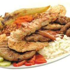 Kevert hústál - Megrendelhető itt: www.Zmenu.hu - A vizuális ételrendelő. Tacos, Mexican, Beef, Chicken, Ethnic Recipes, Food, Meat, Essen, Meals
