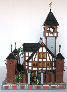 Made for the Embassy Challenge (Challenge 2) for the Guild of Avalonia at Eurobricks.com