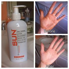 Sun Labs Sunless Tanning Lotion Is the best thing EVERRRR created!!! Has replaced tanning in beds! Yay for no premature wrinkles!!!!