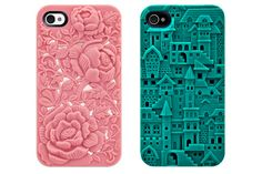 3D-textured iPhone cases!
