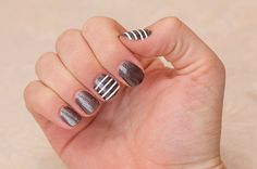 Stripes Lines Nail Art Vinyl Decal Sticker by airetdesigns on Etsy