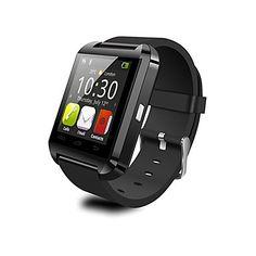 chiamate U8 SmartWatch indossabili, fotocamera messaggio di controllo multimediale / vivavoce / anti-perso per android ios smartphone / – EUR € 27.46