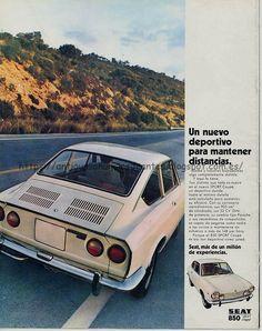 Antiguos anuncios de antes: Seat (86 anuncios) (renovado) Fiat 850, Fiat Abarth, Vintage Ski, Vintage Cars, Car Advertising, Old Ads, Nissan Skyline, Vintage Advertisements, Art Cars