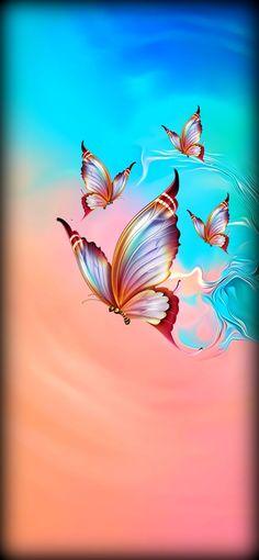 fond d'écran samsung Papillons fond d'écran samsung Papillons - Wallpaper S8, Phone Background Wallpaper, Flower Phone Wallpaper, Butterfly Wallpaper, Butterfly Art, Colorful Wallpaper, Cellphone Wallpaper, Wallpaper Backgrounds, Beautiful Flowers Wallpapers