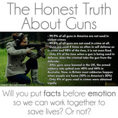 Know the facts. Is that an assault weapon she's holding?