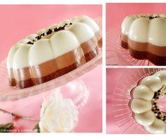 Gelatina de 3 chocolates