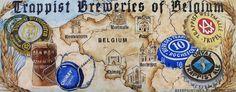 Seis monasterios trapenses belgas