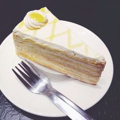 31446426b4 Lemon Cheese mille crepe ♡ How To Cook Pancakes