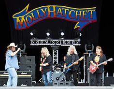 Saw these guys at the Fox Theater in Atlanta/Google Image Result for http://upload.wikimedia.org/wikipedia/commons/thumb/d/db/Molly_Hatchet_at_Hellfest.jpg/256px-Molly_Hatchet_at_Hellfest.jpg