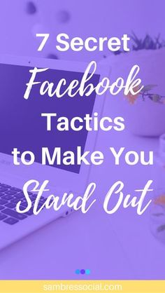 Invite people who like your posts to like you page, a trick for time sensitive posts, how to hide your address as a local business, and more! These 7 secret Facebook marketing tactics are super underused and littleknown so they will definitely make your small business stand out on Facebook!