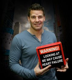 I'm dead Bones - Hotness {David Boreanaz|Seeley Booth} #73: Because we opt ...
