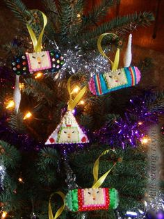Katamari Cousin Christmas Decorations