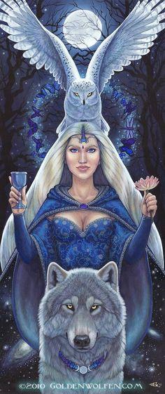 "Spirit Totem Animals:  #Spirit #Totem #Animals ~ ""Feminine Divine,"" by Christy Grandjean."