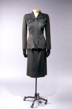 Adrian suit ca. 1950 via The Costume Institute of the Metropolitan Museum of Art