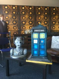 Dr Who Cakes - Cake by Paul of Happy Occasions Cakes.