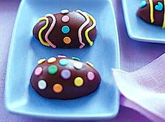 Chocolate-Covered Candy Eggs